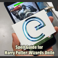Small Spell Guides for Harry Potter: Wizards Unite  3D Printing 249296