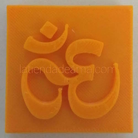 Small Namaste Soapstamp 3D Printing 249345