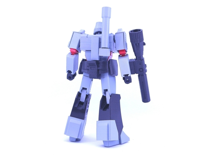 ARTICULATED GUNMASTER NOT MEGATRON NO SUPPORT 3D Print 249401