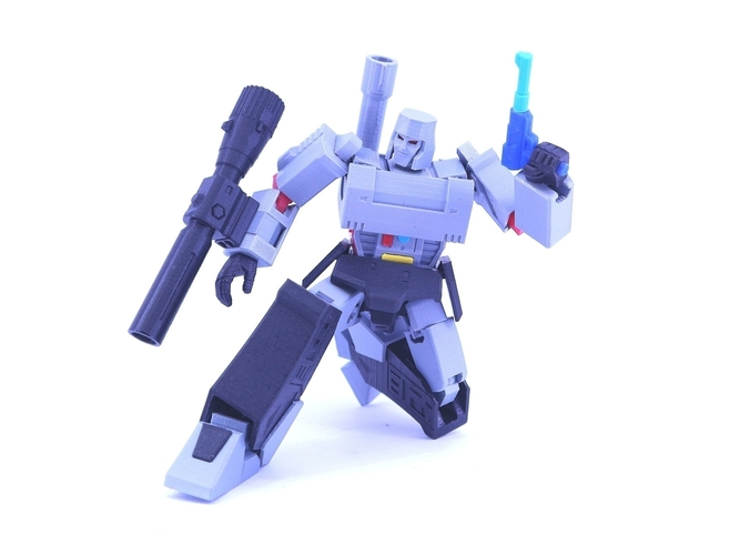 ARTICULATED GUNMASTER NOT MEGATRON NO SUPPORT 3D Print 249404
