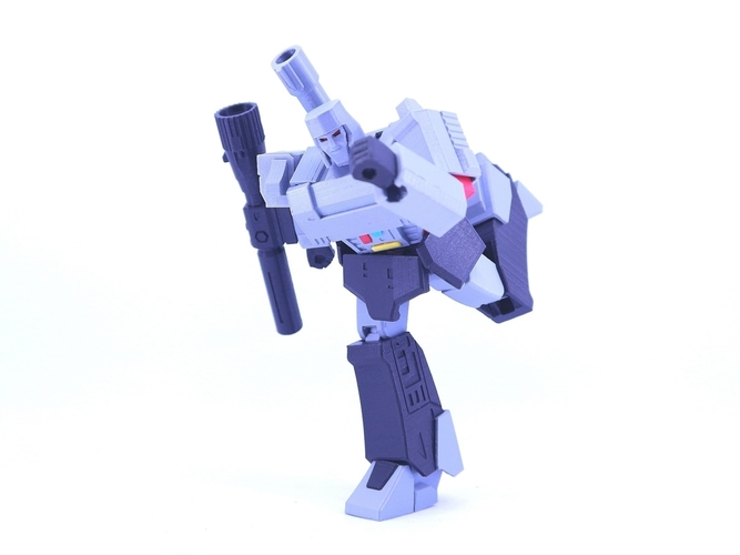 ARTICULATED GUNMASTER NOT MEGATRON NO SUPPORT 3D Print 249405
