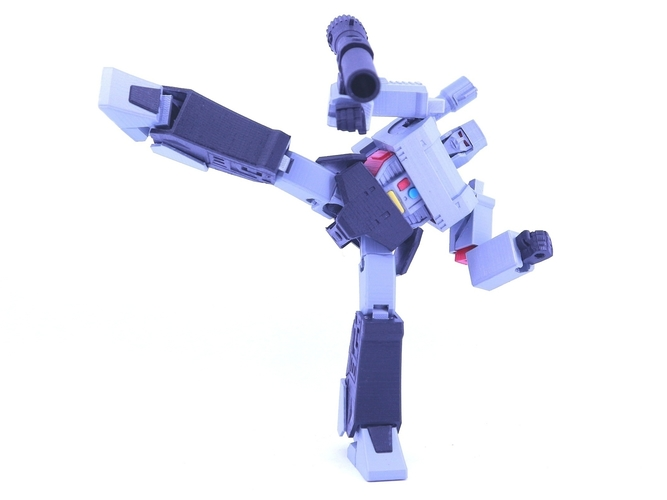 ARTICULATED GUNMASTER NOT MEGATRON NO SUPPORT 3D Print 249406