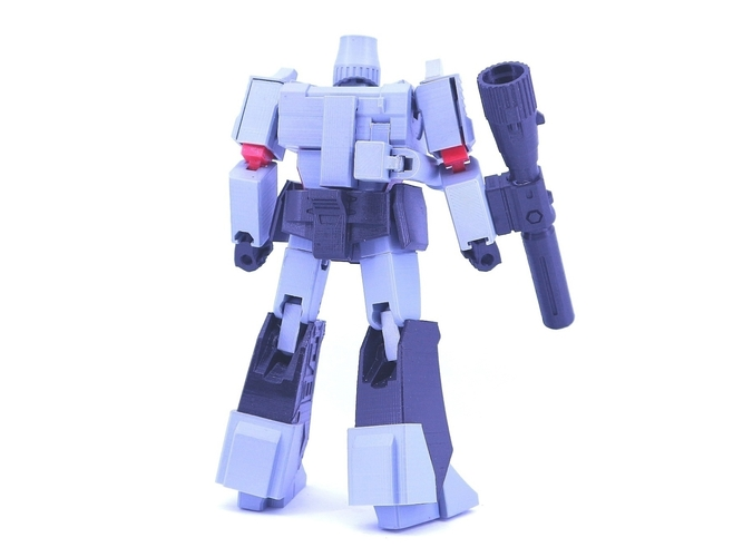 ARTICULATED GUNMASTER NOT MEGATRON NO SUPPORT 3D Print 249408