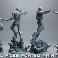 Small IronMan Mark42 -Avengers 3D Printing 249497