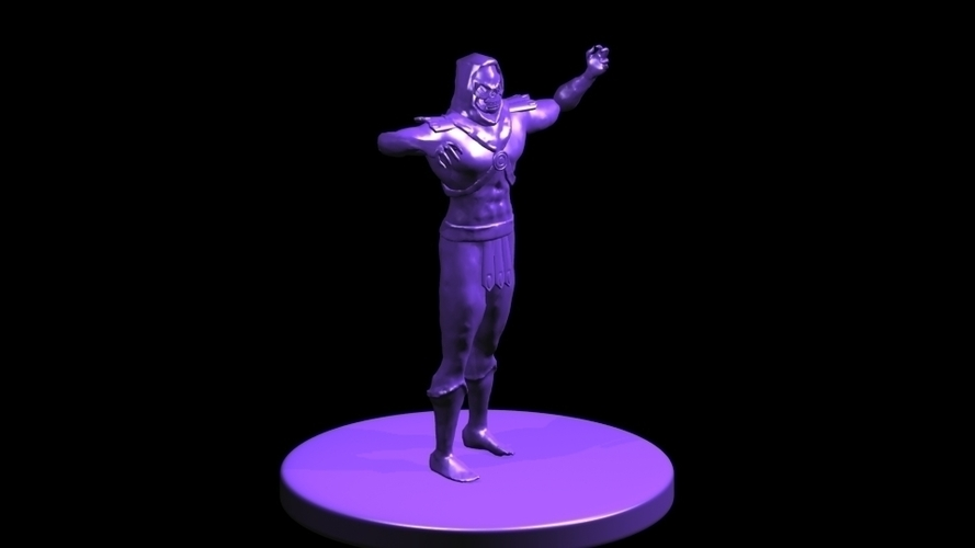 Skeletor_Figure_toy 3D Print 249522