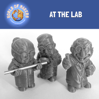 "Small ""At the Lab"" collection from the World of Makers series 3D Printing 24960"