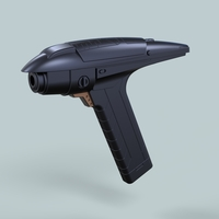Small Phaser from Star Trek Discovery Section 31 3D Printing 249721