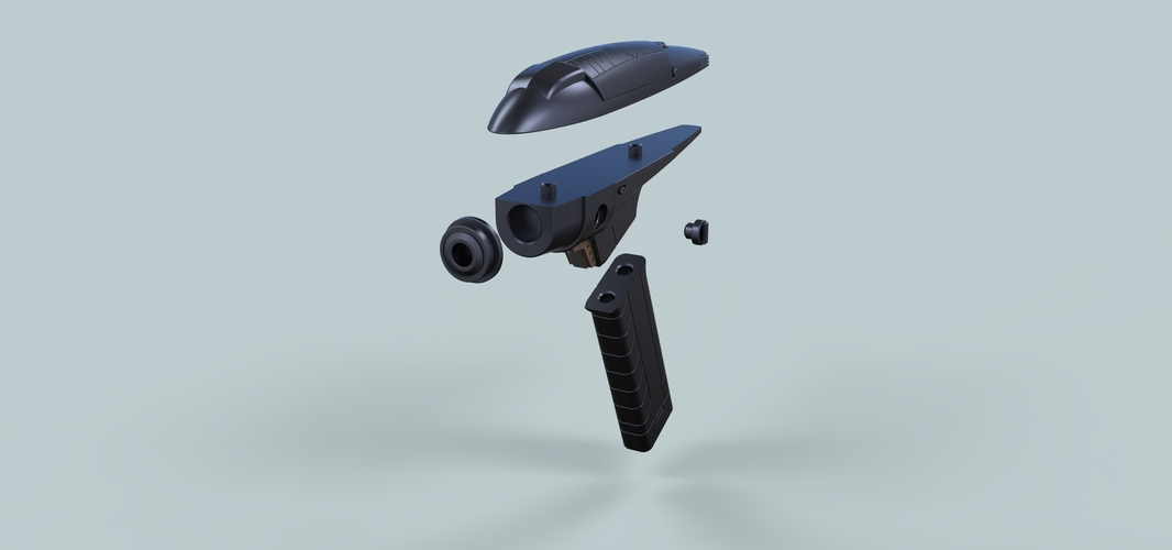 Phaser from Star Trek Discovery Section 31 3D Print 249736
