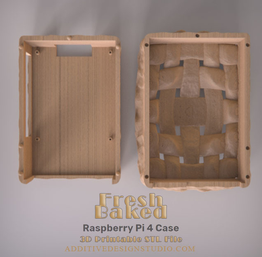 Fresh Baked Raspberry Pi 4 Case 3D Print 249748