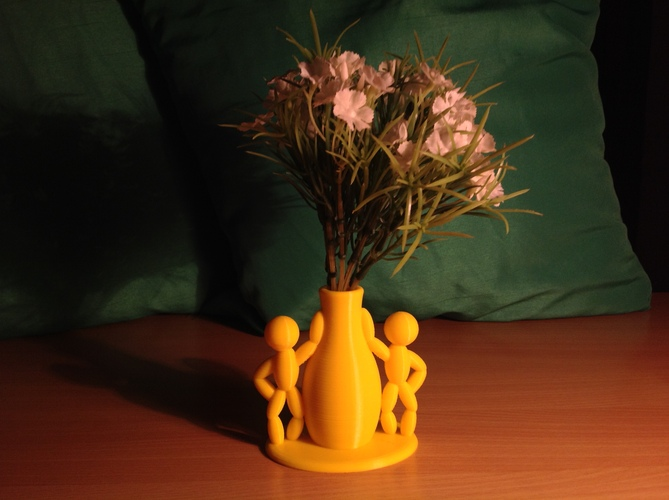 The Thingummies welcome your friends with flowers 3D Print 24979