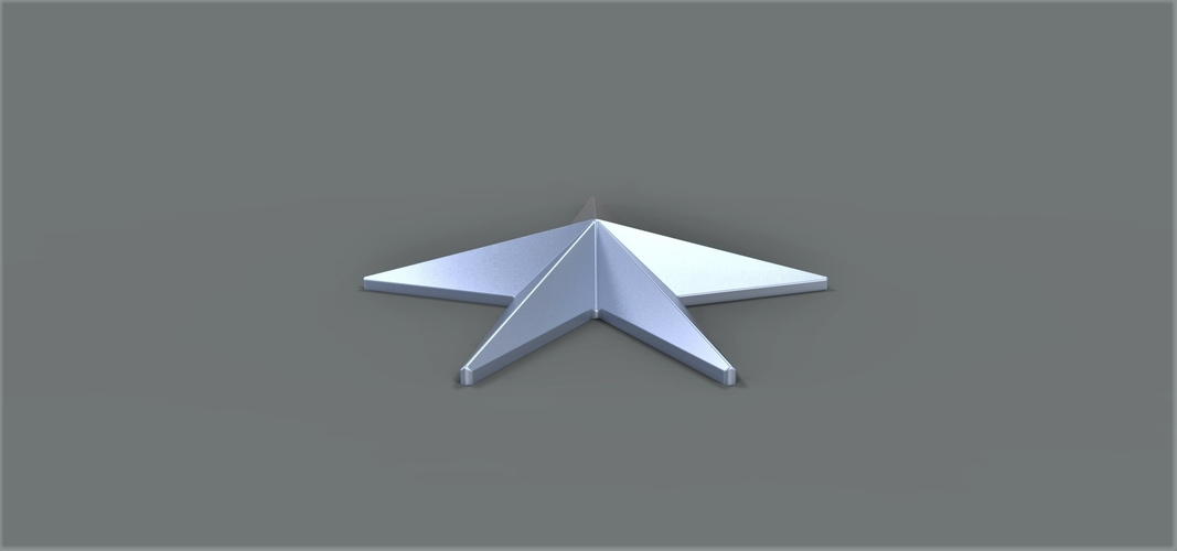 Starfleet Honor pin  from Star trek 2013 3D Print 249904