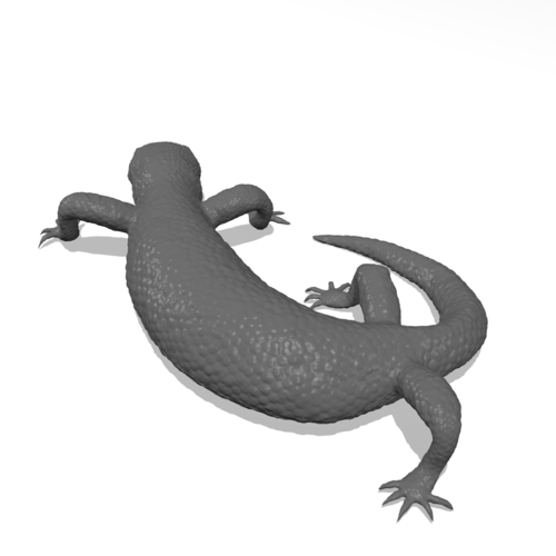 Mexican Beaded Lizard(Heloderma Horridum) 3D Print 249920