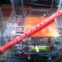 Small Recorder (Music instrument) 3D Printing 2500
