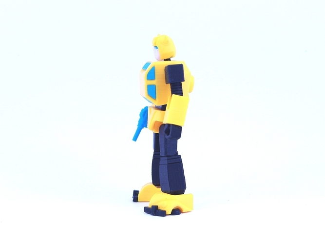 ARTICULATED G1 BUMBLEBEE - NO SUPPORT 3D Print 250029