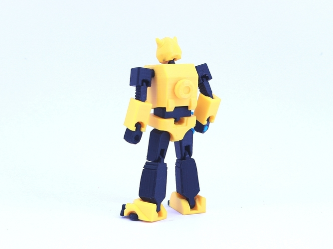 ARTICULATED G1 BUMBLEBEE - NO SUPPORT 3D Print 250030