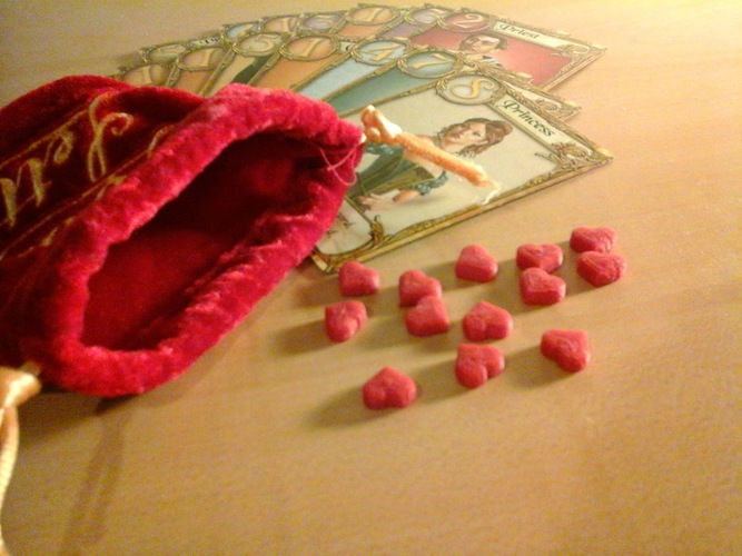 Love Letter heart tokens 3D Print 2501