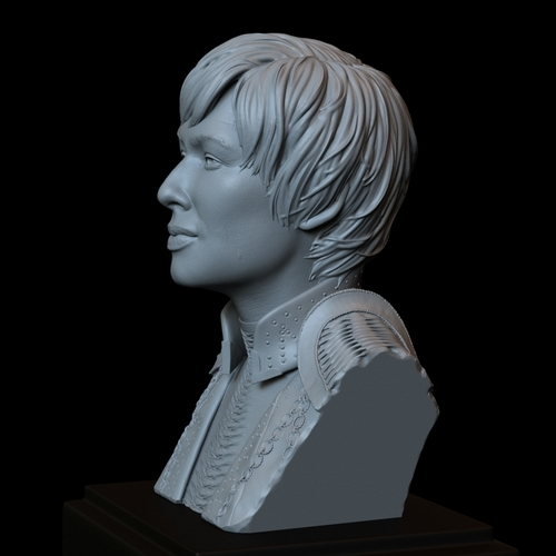 Cersei Lannister of Game of Thrones, portrait, bust, 200 mm tall 3D Print 250100