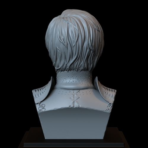 Cersei Lannister of Game of Thrones, portrait, bust, 200 mm tall 3D Print 250101