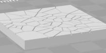 3D Printed Wargaming Terrain Tile by KombatBunni | Pinshape