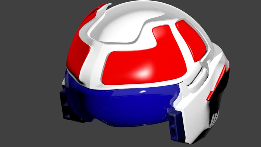 Robotech helmet for cosplay  3D Print 250171