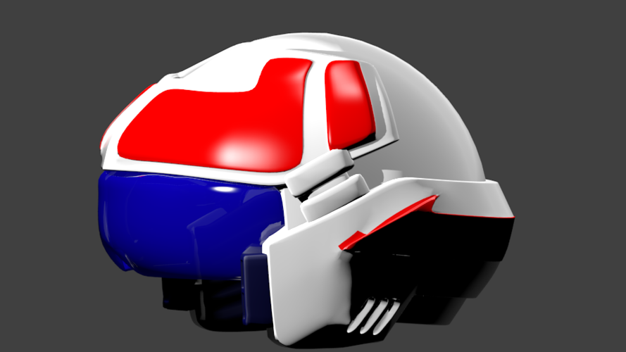 Robotech helmet for cosplay  3D Print 250172
