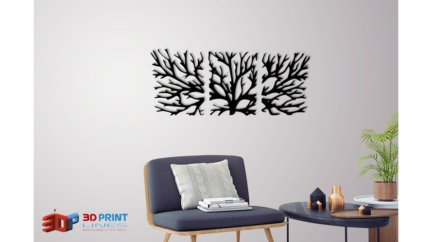 WALL TREE BRANCHES  3D Print 250187