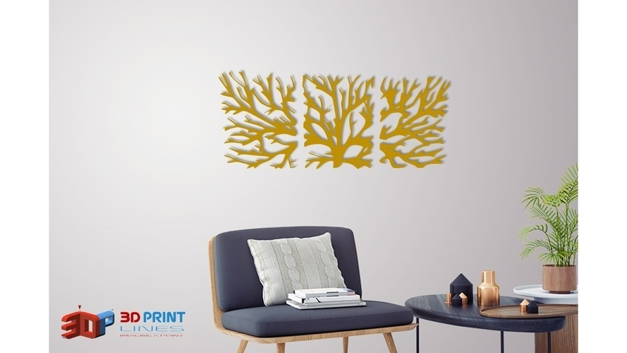 WALL TREE BRANCHES  3D Print 250188