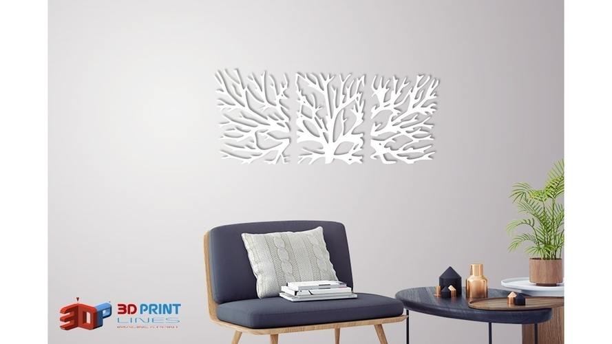 WALL TREE BRANCHES  3D Print 250189