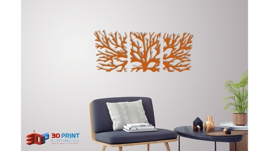 WALL TREE BRANCHES  3D Print 250190