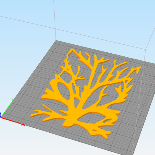 WALL TREE BRANCHES  3D Print 250192