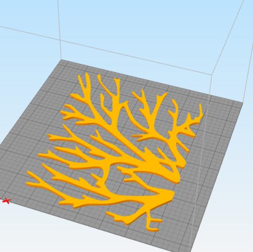 WALL TREE BRANCHES  3D Print 250193