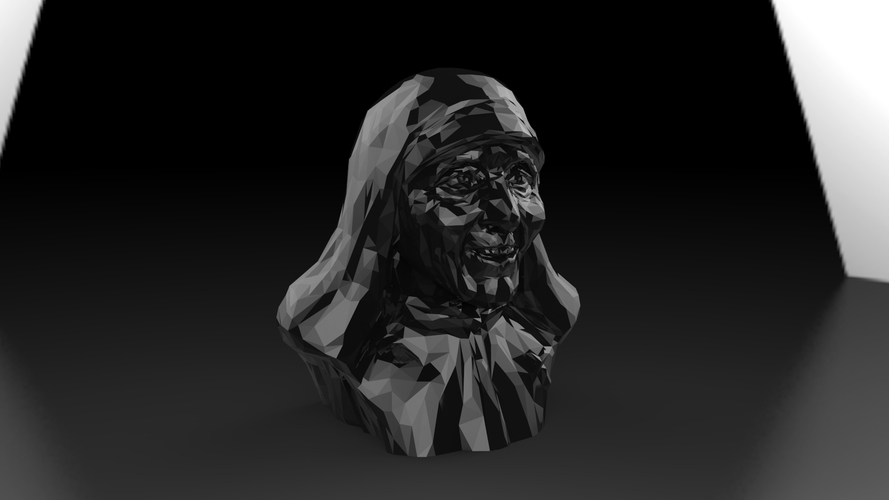 Mother Theresa 3D Print 25036