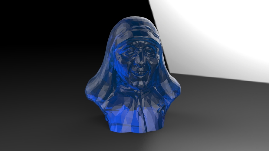 Mother Theresa 3D Print 25038