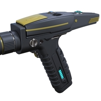 Small Accurate replica of Phaser pistol from Star Trek Discovery 3D Printing 250552