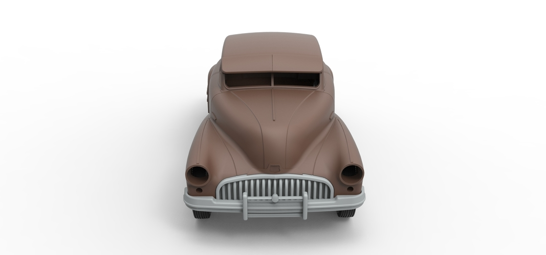 Diecast shell and wheels Buick Scale 1 to 24 3D Print 250697
