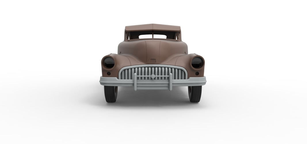 Diecast shell and wheels Buick Scale 1 to 24 3D Print 250698
