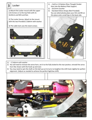Brazin Scale ATL Chassis Parts (STH Style) for TRX4 3D Print 250830