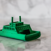 Small Ferry 3D Printing 250907