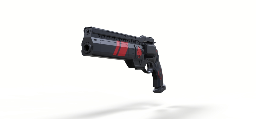 Ace of Spades Hand cannon from Destiny 2 3D Print 251001