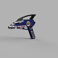 Small Power rangers: In Space Blaster 3D Printing 251024