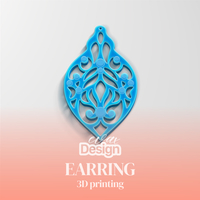 Small Earrign 3D Printing 251084