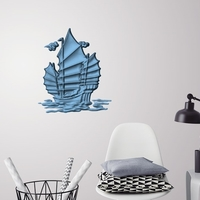 Small Old ship 3D wall decoration 3D Printing 251160