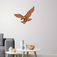 Small Eagle 3D wall decoration  3D Printing 251163