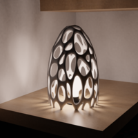 Small Lamp Frame : The Nest 3D Printing 251262