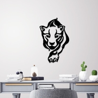 Small TIGER WALL ART 3D Printing 251325