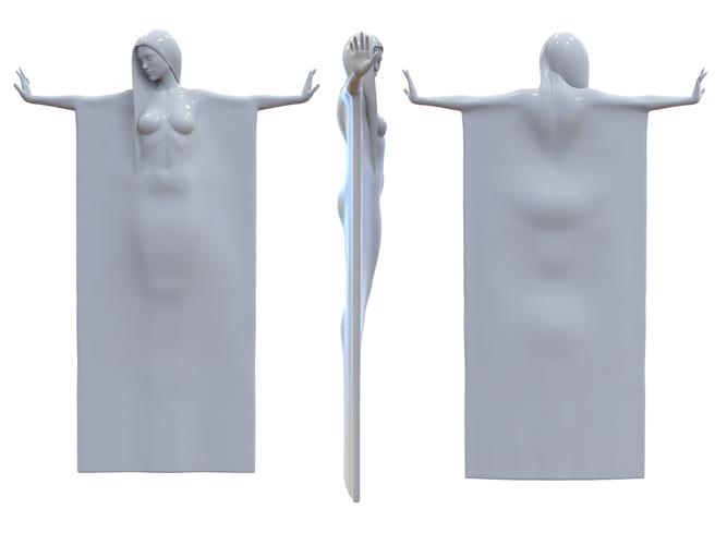 woman sculpture 3D Print 251328