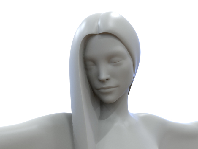 woman sculpture 3D Print 251333