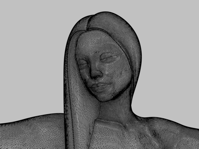 woman sculpture 3D Print 251335
