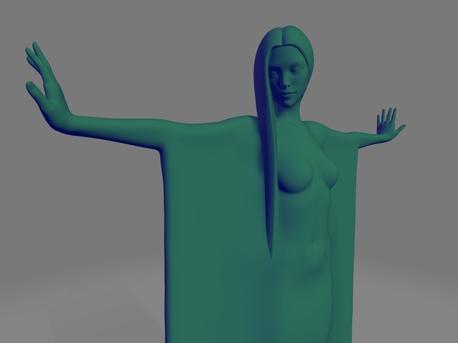 woman sculpture 3D Print 251336