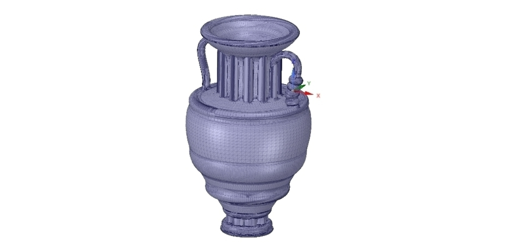 amphora cup vessel for dust 3D Print 251346